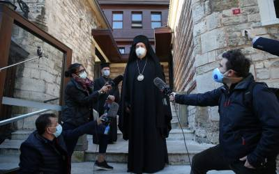 Paris Metropoliti ve Fener Rum Patrikhanesi'nin Fransa temsilcisi Emmanuel  Adamakis arşivleri - Özgür Gündem Trakya Gazetesi