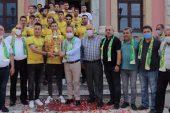 Sevinçlerini Başkan Gürkan'la Paylaştılar