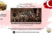 Balkan senfoni orkestrası, 30 Ağustos konseri düzenleyecek