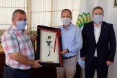 Başkan Gürkan, Trakya Birlik yönetiminin konuğu oldu
