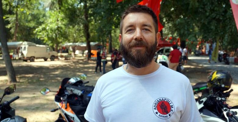 Edirne'de düzenlenen motosiklet festivaline covid-19 engeli