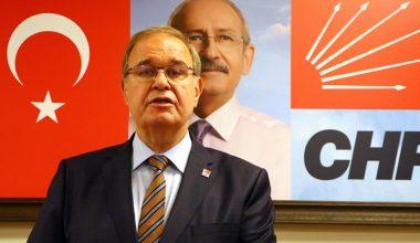 CHP Sözcüsü Faik Öztrak Tekirdağ'daydı