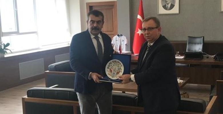 Rektör Tabakoğlu'nun Ankara ziyaretleri