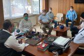 Başkan İba, İl Özel İdare Genel Sekreteri Uğur'u ziyaret etti