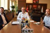 Trakya Üniversitesi Genel Sekreter Yardımcısı İşçimen'den Helvacıoğlu'na ziyaret