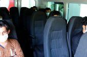 Edirne'ye gönderilen 173 yabancı uyruklu, ülkelerine gönderilmeye başlandı