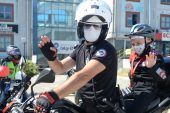 Kanser hastası Uras'a, polislerden sürpriz doğum günü