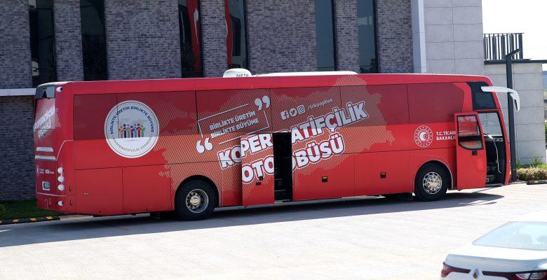 """""""Kooperatifçilik Otobüsü"""" Sakarya'da eğitimler verecek"""