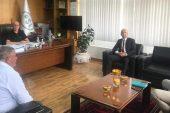 Lalapaşa Kaymakamından DSİ 11.Bölge Müdürüne Ziyaret