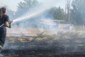 Lüleburgaz'da otluk alanda yangın!