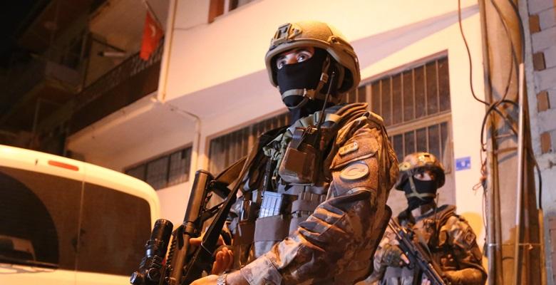Terör operasyonunda 4 tutuklama!