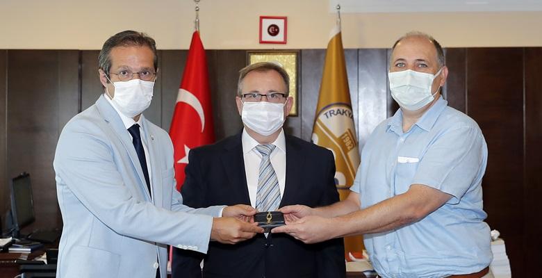 Trakya Üniversitesinde Görev Değişimi