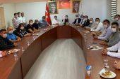 AK Parti ilçe başkanı adayının belirleneceği toplantı için, Milletvekili Kaynarca Keşan'a geldi…