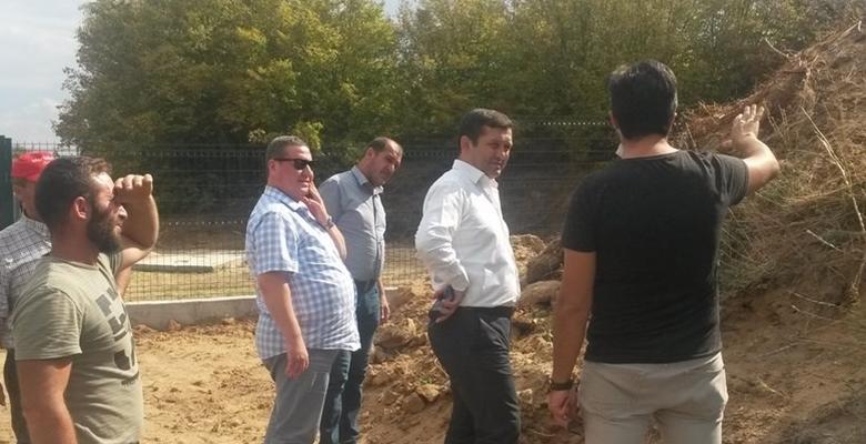 Kaymakam Erdoğan'ın köy ziyaretleri