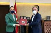 AA Bursa Bölge Müdürü Aksoy'dan Başsavcı Şen'e ziyaret