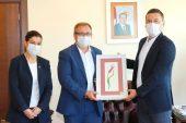 KEFEK Başkanı Aksal'dan Rektör Tabakoğlu'na ziyaret