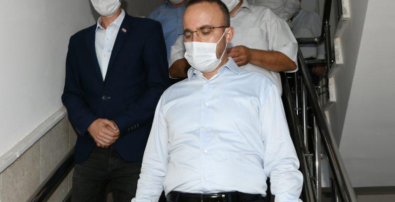 AK Parti Grup Başkanvekili Turan, Yenice ilçesini ziyaret etti
