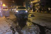 Ataşehir'de trafik kazası: 1 yaralı