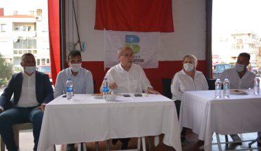 Gönüllü itfaiyeciyeler sertifikalarını aldı