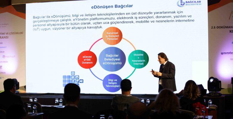 """Belediyenin """"Akıllı Başvuru ve Dijital Vatandaşlığa Geçiş"""" projesine ödül"""