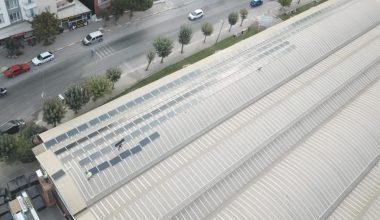Pazar yerlerinin çatılarında enerji üretilecek