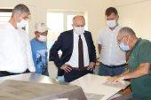Tarım ve Orman Müdürü Bayazıt, Keşan'daki işletmeyi gezdi