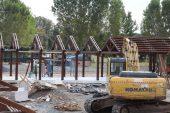 Beykoz'da köy pazarı inşası sürüyor