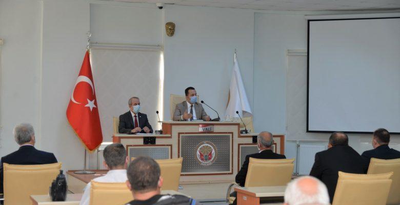 Kovid-19 salgınıyla mücadele toplantısı