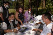 Bozcaarmut Göleti'ndeki çalışmalar devam ediyor
