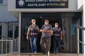 Bursa'da hakkında kesinleşmiş hapis cezası bulunan kişi yakalandı