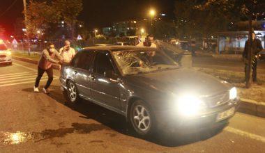 Otomobilin çarptığı motosikletli yaşlı çift ağır yaralandı
