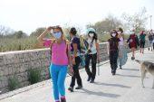 Çanakkale'de kadınlar, Troya Kültür Rotas'ındaki 7 günlük yürüyüşüne başladı