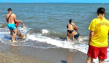 Deniz sezonunda 2 bin 411 kişi boğulmaktan kurtarıldı