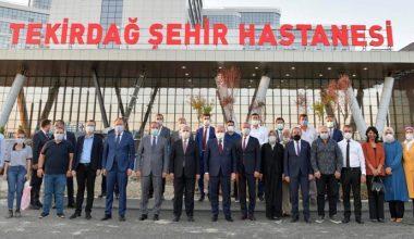 """Şentop'tan esprili """"Tekirdağ Şehir Hastanesi"""" paylaşımı"""