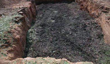 Bitkisel atıklar gübreye dönüştürülüyor