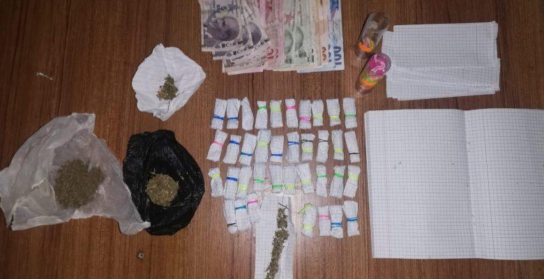 Çerkezköy'de uyuşturucu operasyonunda 1 şüpheli gözaltına alındı