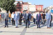 CHP'nin 97.kuruluş yıl dönümünde Edirne'de tören