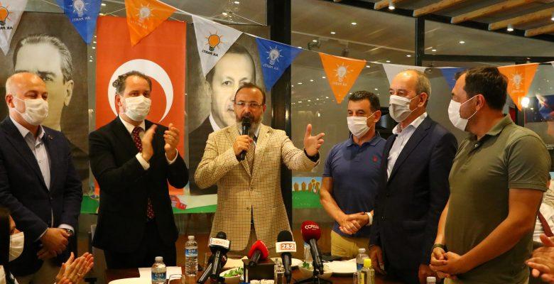 DSP'den istifa eden Marmaraereğlisi Belediye Başkanı Ata, AK Parti'ye geçti