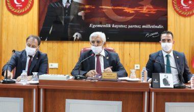 İl Genel Meclisi'nin Eylül ayı ilk toplantısı yapıldı