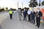Edirne Valisi Ekrem Canalp Kovid-19 denetimlerine katıldı