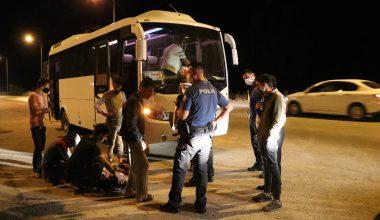 Edirne 7 düzensiz göçmen yakalandı