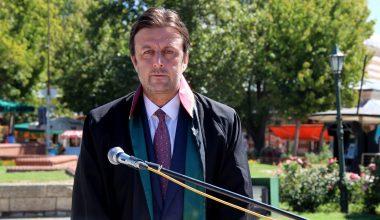 Edirne'de adli yıl düzenlenen törenle açıldı
