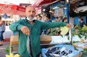 Edirne'de av sezonunun ilk gününde tezgahlar istavrit ve sardalyayla şenlendi