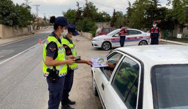 Edirne'de jandarma ekipleri 98 bin 118 kişiye trafik kurallarını anlattı