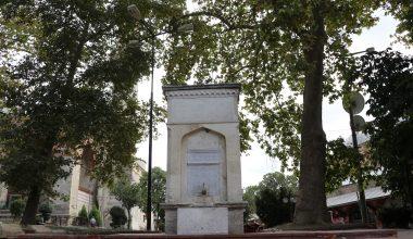 Edirne'de salgında ölen doktorlar anısına yapılan çeşme yeniden açıldı