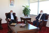 Trakya Kalkınma Ajansı Genel Sekreteri Şahin'den Rektör Tabakoğlu'na ziyaret
