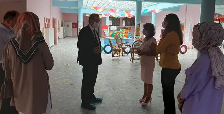 Milli Eğitim Müdürü, okullardaki çalışmaları inceledi