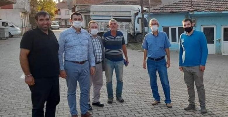 Gaytancıoğlu ve CHP Keşan ilçe yönetimi, vatandaşı dinledi…