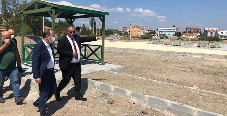 """Başkan Gürkan, """"Enez'e desteğimiz sürecek"""""""