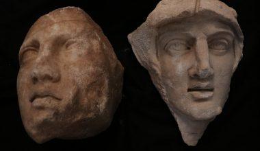 """Hadrian Tapınağı kazısında arkeologlar """"parçaları birleştirerek"""" geçmişe ışık tutuyor"""